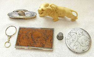 Collection of 6 Victorian antique and art deco items