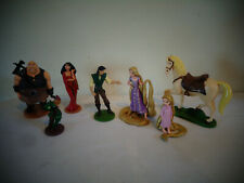 Disney Rapunzel Tangled Pvc Figures Set Lot Of 7 Maximus Pascal Flynn