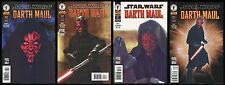 Star Wars Darth Maul Comic Set 1-2-3-4 Lot Movie Photo Covers Episode 1 Prequel