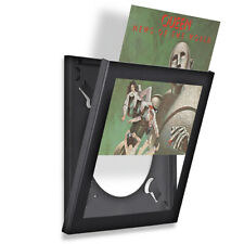 More details for art vinyl play & display record frame triplepack black - the best lp frame