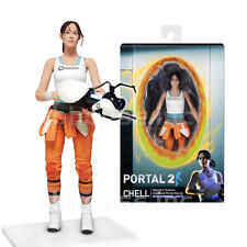 "7"" CHELL figure PORTAL 2 test subject #1 APERATURE LABORATORIES valve ASHPD neca"