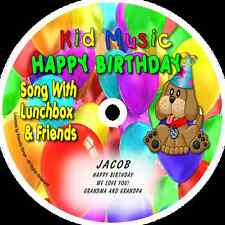 ~eBay~ Personalized Happy Birthday Song Personalized Kids Music CD