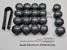 Audi und VW Radschraubenkappen inkl. Abzieher, Kappen für Radschrauben 16+4