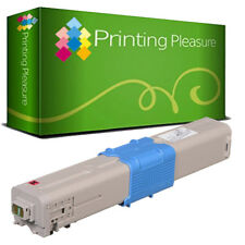 Magenta Toner Cartridges for Oki C532dn C542dn MC563dn MC573dn C:6000P 46490607