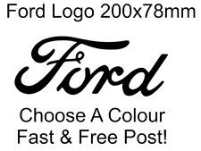 Ford Logo Decal Sticker Car Bumper Funny x1 Choose Colour