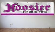 Hoosier Banner Flag 2X8Ft Racing Tire Sign Flag Large Banner