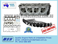 Cylinder Head Kit for Mazda B2600 Ford Courier Raider G6 2.6L 4cyl LPG VRS set