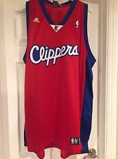 NWT NBA Los Angeles Clippers 100% Authentic Adidas Blank Swingman Jersey - 2XL