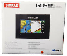Simrad Go5 Xse Gps Chirp Row Chartplotter Fishfinder + TotalScan + Cmap Pro
