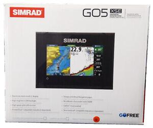 Simrad GO5 XSE GPS CHIRP ROW Chartplotter Fishfinder + TotalScan + CMAP PRO