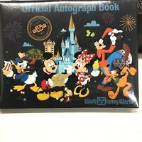 WALT DISNEY WORLD OFFICIAL AUTOGRAPH BOOK, NEW IN ORIGINAL SEALED PACKAGING