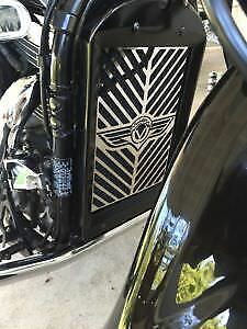 NEW KAWASAKI VULCAN VN 1700 VN1700 CUSTOM RADIATOR GRILLE GRILL COVER ALL MODELS