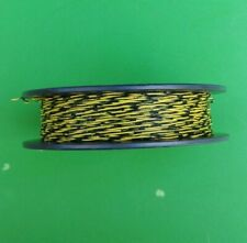 (NEW) 500 FT. General Cable Cross Connect Wire 1PR 24 AWG Black + Yellow 500 FT