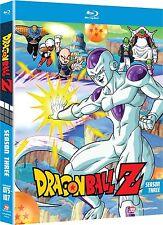 Dragon Ball Z Dragonball Z Season 3 Three (Blu-ray, 4-Disc, Uncut) FAST SHIPPING