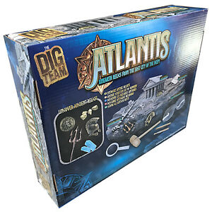 Atlantis Unearth Ancient Relics Lost City of Deep Greek History Archaeolody Toy