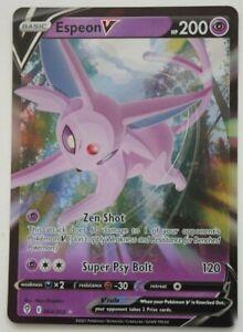 Pokemon TCG Evolving Skies Half Art Holo Card - 064/203 Espeon - Pack Fresh