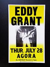EDDY GRANT   -  AGORA  -  ORIGINAL VINTAGE CONCERT PROMOTION POSTER