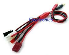 5 in 1 multi connector charging cable JST Tamiya Deans Futaba + more