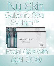 X 2 Nu Skin Galvanic SPA Facial Gels With Ageloc - 2 Box