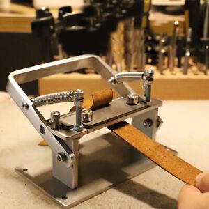 Stainless Steel Leather Peeling Machine Splitter Manual Leather Skiver Peeler US