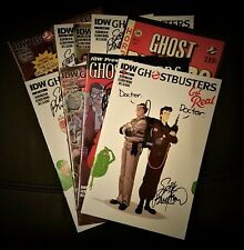 Ghostbusters: Get Real #1 - #4 (2015, IDW Comics) FULL SERIES RUN, ALL SIGNED