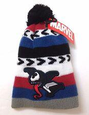 d207f495dae CHIBI VENOM POM BEANIE Marvel Spiderman Villain Tongue Winter Knit Hat  Men Women