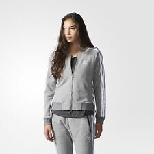 all must go !!! ADIDAS ORIGINALS womens DRAWCORD  TRACK TOP JACKET size 10