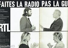 PUBLICITE ADVERTISING 106  1970   Radio RTL (2p)
