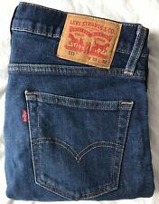 Levi's 511 Slim Men's Blue Jeans W33 L32