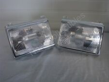 NOS OEM Ford Bronco F150 F250 F350 F450 Pickup Headlamp Lights 1987 - 91 PAIR