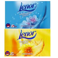 Lenor Tumble Dryer Sheets Spring Awakening Summer Breeze 34 Sheets Soft & Fresh