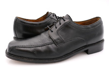 Bostonian Mens 10.5M Pollino Black Leather 24345 Lace Up Oxford Dress Shoes