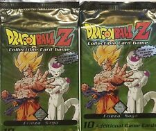Score Dragon Ball Z GT CCG TCG Booster Packs Frieza Saga DBZ Sealed Lot X2