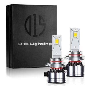 9005 HB3 LED DRL Headlight Light Bulbs 6000K 12000LM White CSP Conversion Kit