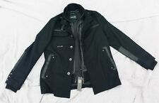 BLUE GURU Size Large Sharp Soid Black Color Coat--Brand New With Tags