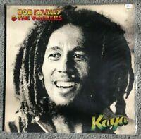 BOB MARLEY & THE WAILERS - Kaya (1978) Vinyl LP (ILPS 9517) Roots Reggae