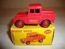 DINKY 255 MERSEY TUNNEL POLICE VAN - VERY GOOD in original BOX