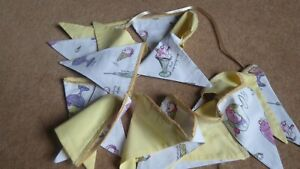 NEW Handmade 3.1m Ice cream sundae lace trim bunting  ideal for bedroom, camping