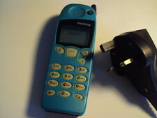 SIMPLE EASY SENIOR turquoise Nokia 5110 UNLOCKED MOBILE PHONE+CHARGER+BATTERY