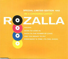 ROZALLLA Are you ready / In 4 choons EDIT & REMIX CD single SEALED USA Seller