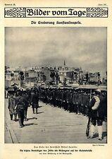 Eroberung Konstaninopels: Ende der Herrschaft Abdul Hamids * Bilddokumente 1909