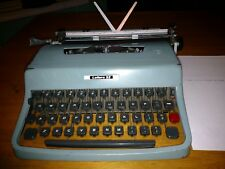 Vintage Underwood Olivetti Lettera 32 Typewriter w/ Carrying Case & Dust Cover