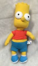 """Applause The Simpsons BART SIMPSON 9"""" Bean Bag STUFFED ANIMAL Toy 2008 NEW"""