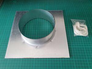 """Chimney Seal Collar, Register Plate, 4"""",5"""",6"""",7"""", CHEAPEST ON EBAY. 1.2mm Galv."""