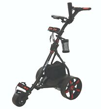2018 BEN SAYERS LEAD ACID BATTERY ELECTRIC 36 HOLE GOLF TROLLEY BLACK/RED