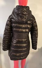 Via Spiga Down Coat Brown Copper Water Resistant Hooded Parka Size: M