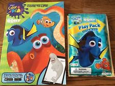 Disney Pixar Finding Dory Coloring Book + Play Pack crayons stickers (Style#1)