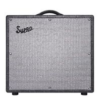 """Supro 1696RT Black Magick Reverb 25W 2-Ch 1x12"""" Combo Amplifier Amp w/ Reverb"""