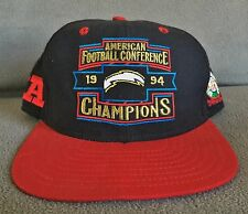 San Diego Chargers Vintage 1994 AFC Champions Super Bowl XXIX NFL Snapback Hat