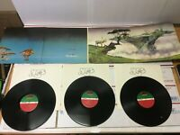 YES YESSONGS 3X LPs & Booklet 1973 Atlantic Records SD 3-100